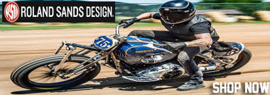 Shop Roland Sands Design Motorcycle Parts, JAckets, Gloves and more.